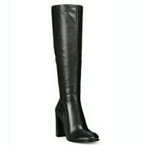 Kenneth Cole Shoes - 🆕Kenneth Cole Block-Heel Leather Riding Boots